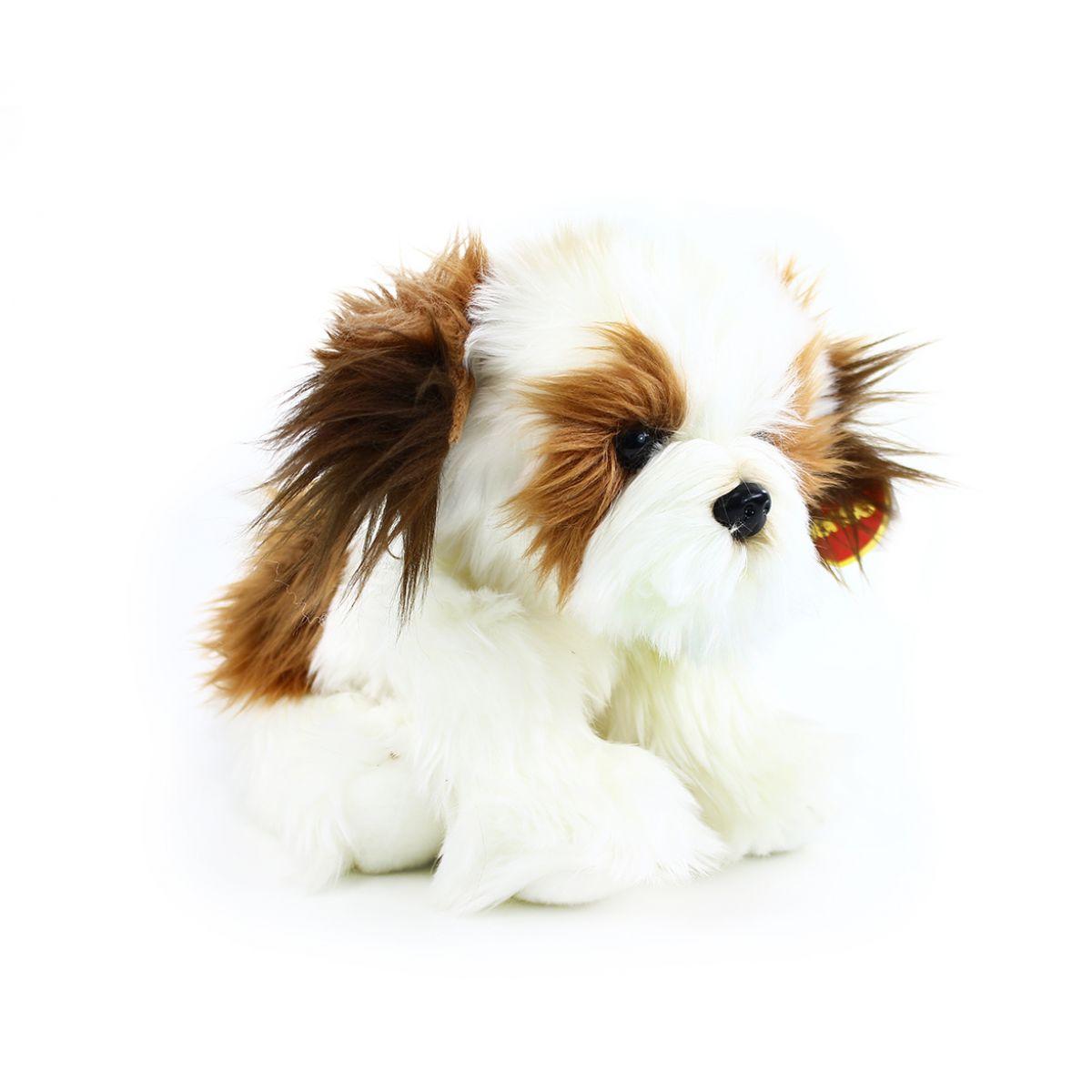 Rappa plyšový pes shih tzu 28 cm sedící