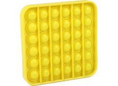 Rappa Pop it praskání bublin čtverec žlutý