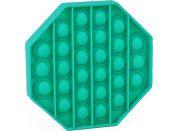 Rappa Pop it praskání bublin osmihran zelený