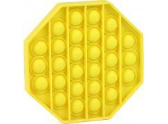 Rappa Pop it praskání bublin osmihran žlutý