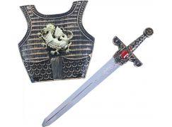 Rappa rytířský meč se zvukem a štítem
