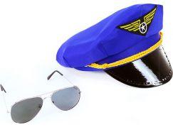 Rappa Sada čepice pilot s brýlemi pro dospělé