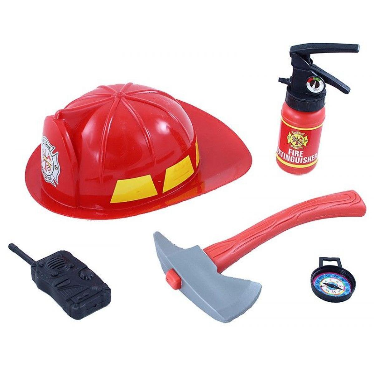 Rappa sada hasičská přilba s příslušenstvím