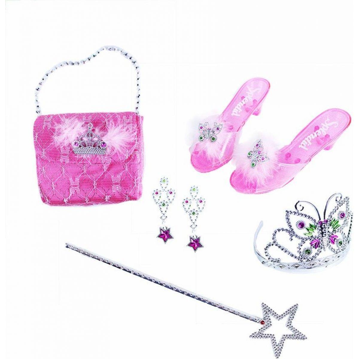 Rappa sada princezna s příslušenstvím růžová