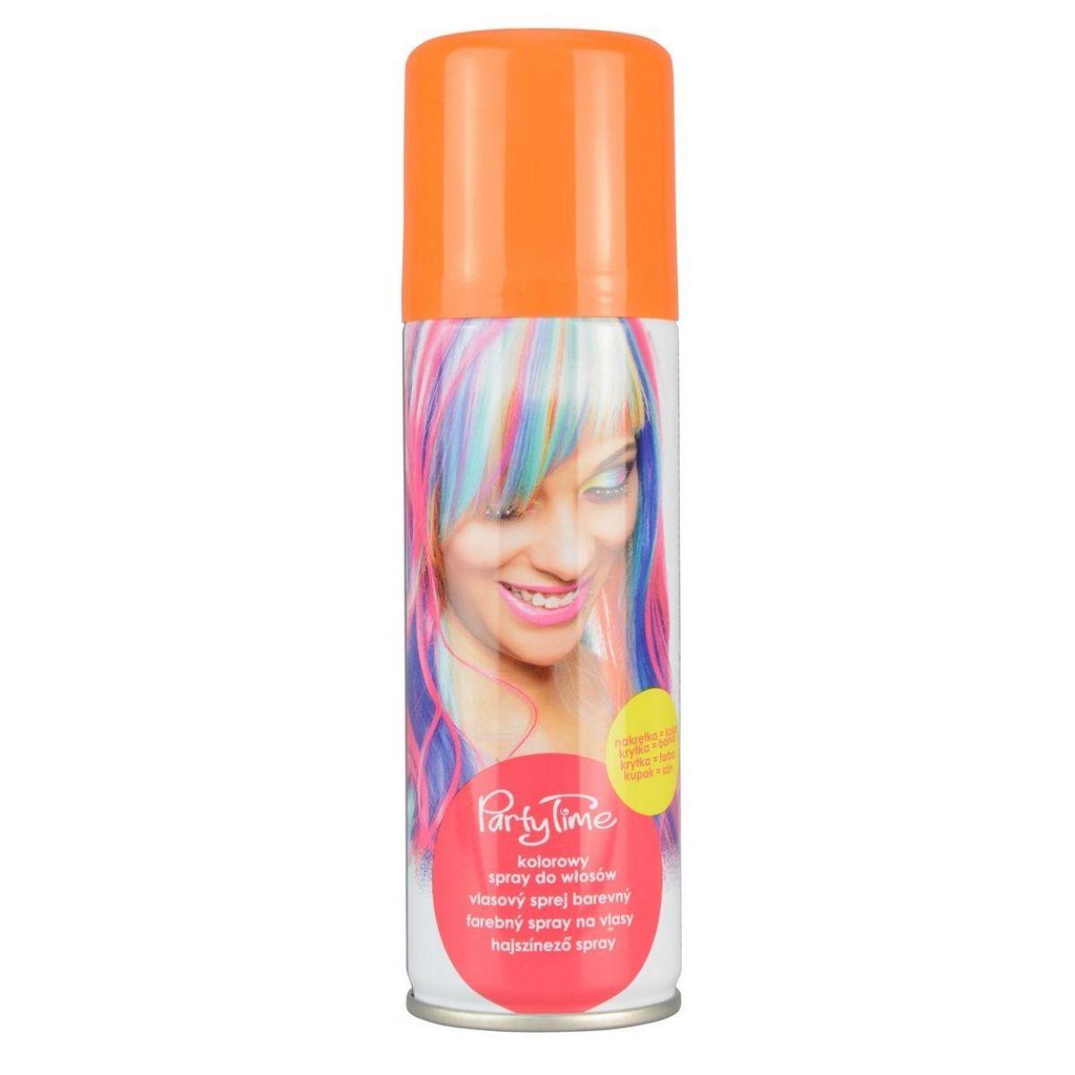 Rappa sprej na vlasy barevný oranžový