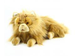 Rappa velká plyšová kočka perská ležící 30 cm
