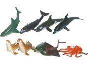 Rappa Zvířata mořská 9 ks v sáčku
