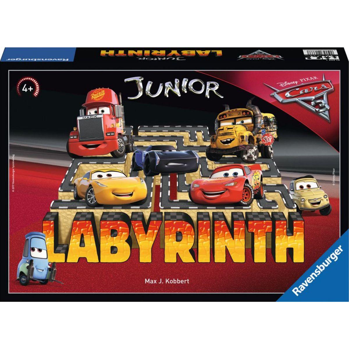 Ravensburger  Labyrinth Junior Disney Auta 3 hra