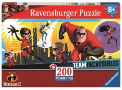 Ravensburger 128433 Úžasňákovi 2 Puzzle Panorama 200 dílků