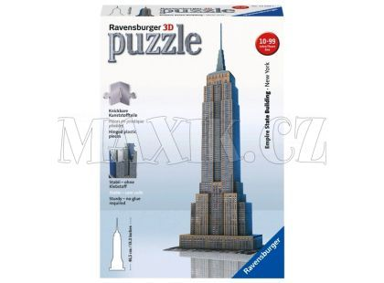 Ravensburger 3D Empire State Building 216 dílků
