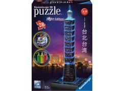 Ravensburger 3D puzzle 111497 Taipei Noční edice 216 dílků