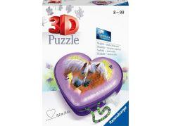 Ravensburger 3D puzzle 111718 Srdce koně 54 dílků