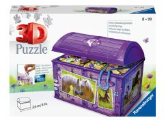 Ravensburger 3D puzzle 111732 Úložná krabice s víkem Kůň 216 dílků