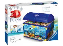 Ravensburger 3D puzzle 111749 Úložná krabice s víkem Podvodní svět 216 dílků