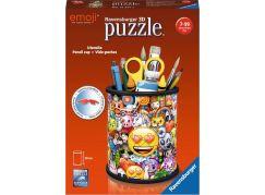 Ravensburger 3D Puzzle 112173 Stojan na tužky Emoji 54 dílků
