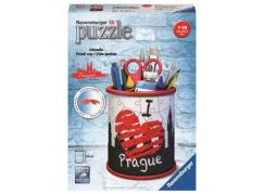 Ravensburger 3D Puzzle 112258 Stojan na tužky I love Prague