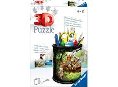 Ravensburger 3D Puzzle 112630 Stojan na tužky Divoká příroda 54 dílků