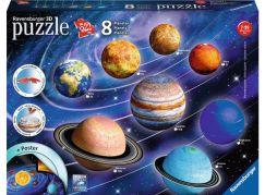 Ravensburger 3D Puzzle 116683 Planetární soustava 522 dílků