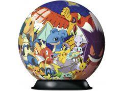 Ravensburger 3D Puzzle 117857 Puzzle-Ball Pokémon 72 dílků