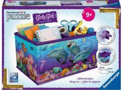 Ravensburger 3D Puzzle 121151 Úložná krabice Podvodní svět 216 dílků