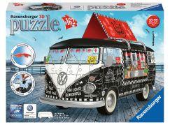 Ravensburger 3D Puzzle 125258 Autobus pojízdné občerstvení 162 dílků