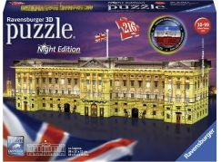 Ravensburger 3D puzzle 125296 Buckinghamský palác Noční edice 216 dílků