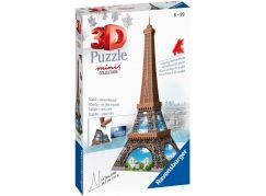 Ravensburger 3D Puzzle 125364 Mini budova Eiffelova věž položka 54 dílků