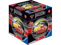 Ravensburger 3D puzzle Disney Auta 3 puzzleball - 54 dílků Blesk McQueen a Cruz Ramirezová