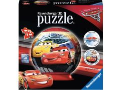 Ravensburger 3D puzzle Disney Auta 3 puzzleball - 72 dílků