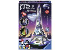 Ravensburger 3D Puzzle Disney věž Noční edice 216 dílků