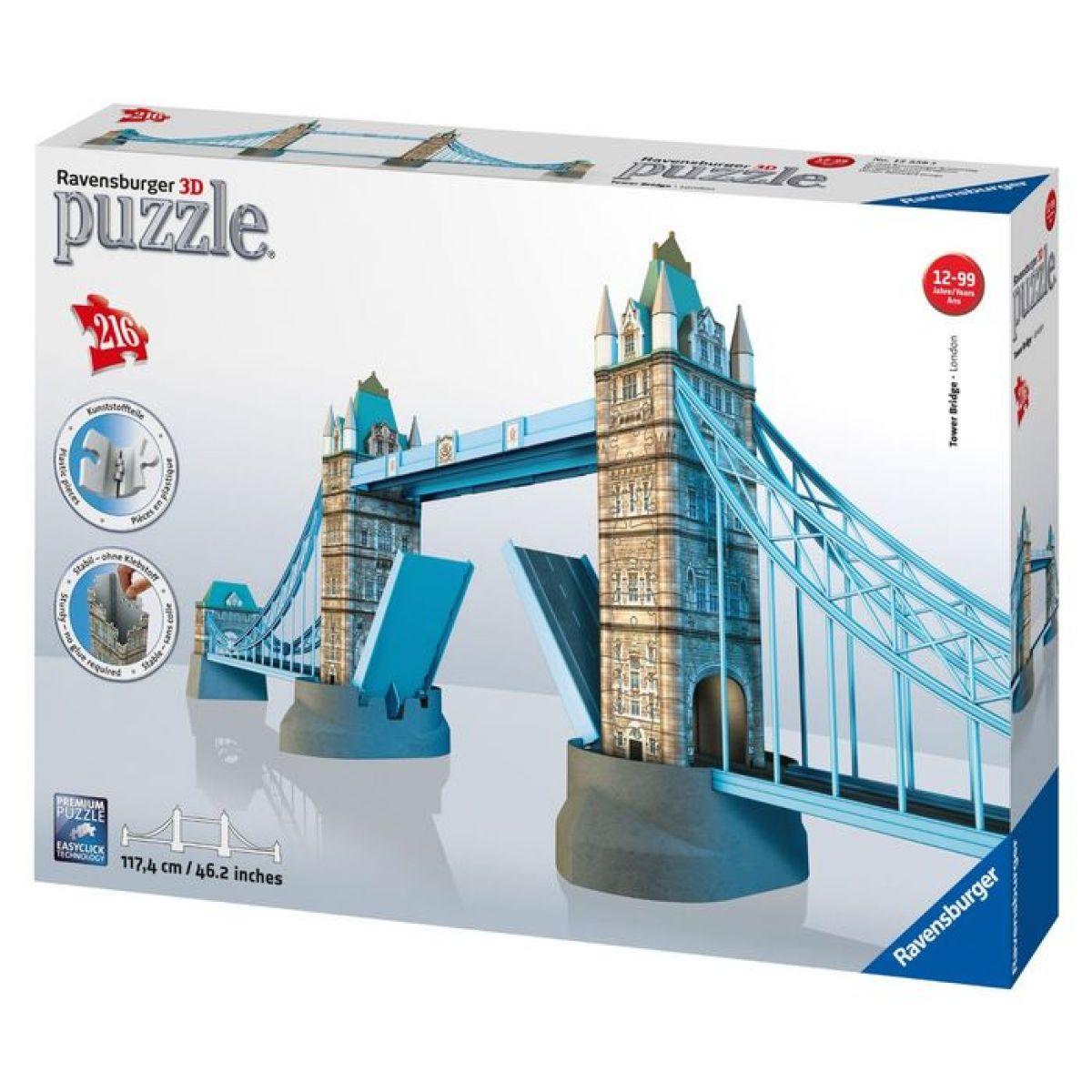 Ravensburger 3D Tower Bridge 216 dílků