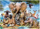 Ravensburger Afričtí přátelé 300 dílků 2