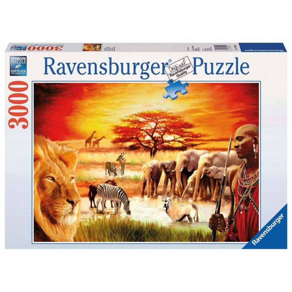 Ravensburger Afrika 3000 dílků