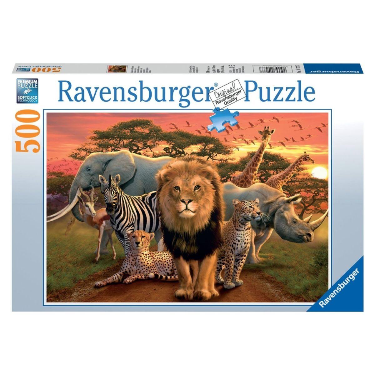 Ravensburger puzzle Afrika 500 dílků