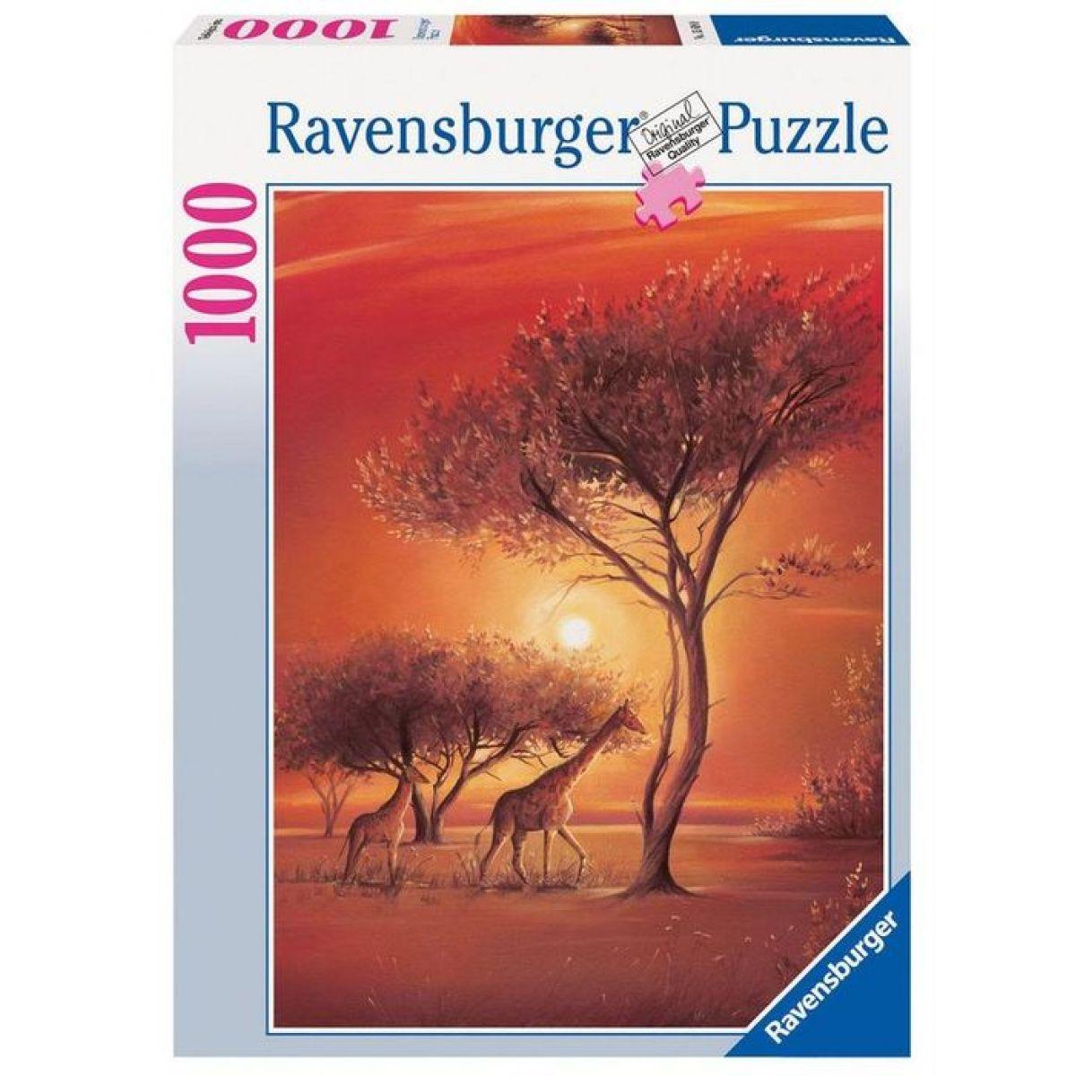 Ravensburger Afrika Leon Wells 1000 dílků