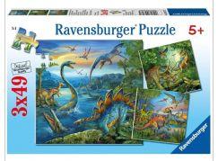 Ravensburger Dinosauři 147 dílků