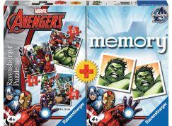 Ravensburger Disney Avengers Puzzle a memory® 25,49 a 36 dílků