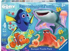 Ravensburger Disney Hledá se Dory 4 v 1 tvary puzzle