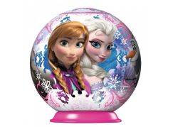 Ravensburger Disney Ledové království puzzleball 54 dílků 01 Elsa a Anna zimní