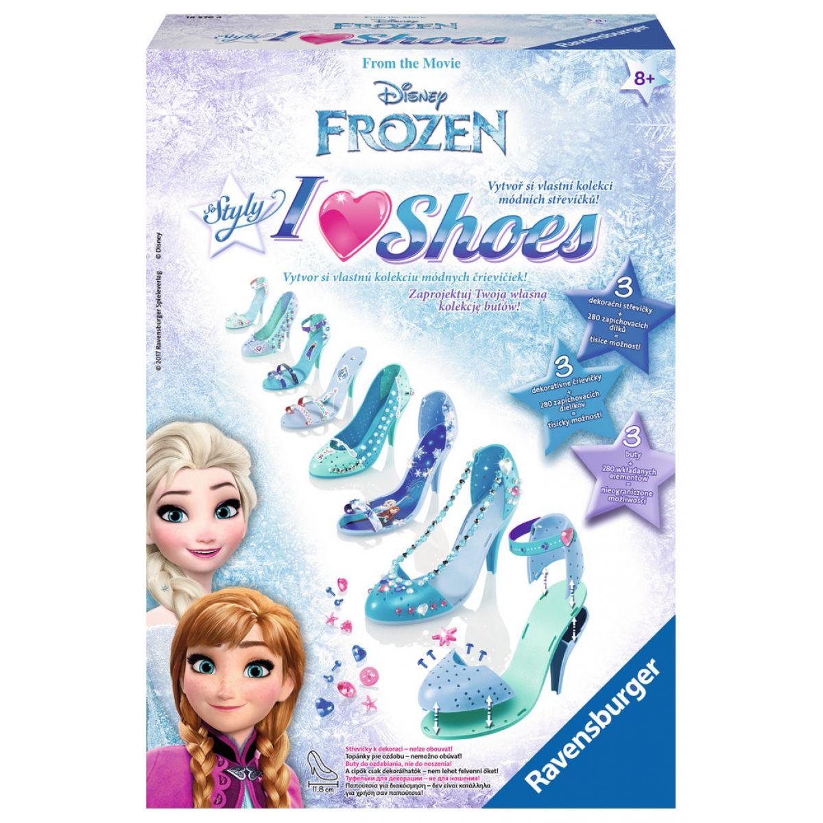 Ravensburger Disney Ledové království Střevíčky