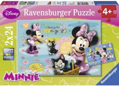 Ravensburger Disney Minnie Mouse puzzle 24 dílků