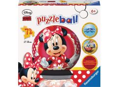 Ravensburger Disney Minnie Mouse puzzleball 72 dílků