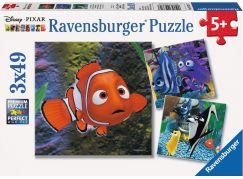 Ravensburger Disney Nemo V akváriu puzzle 49 dílků
