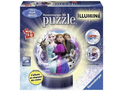 Ravensburger Disney Puzzle 3D Ledové království svítící puzzleball 121830