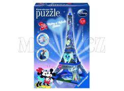 Ravensburger Disney Puzzle 3D Mickey a Minnie Eiffelova věž 216 dílků