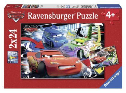Ravensburger Disney Puzzle Auta McQueen 2x24 dílků