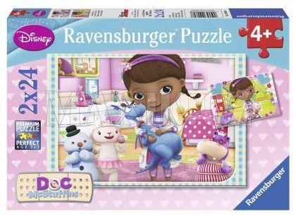 Ravensburger Disney Puzzle Dr. Plyšáková 2x24 dílků