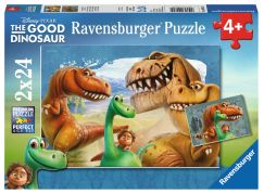 Ravensburger Disney Puzzle Hodný Dinosaurus 2x24 dílků