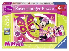 Ravensburger Disney Puzzle Jeden den s Minnie 2x24 dílků