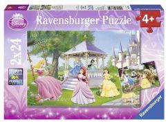 Ravensburger Disney Puzzle Kouzelné princezny 2x24 dílků